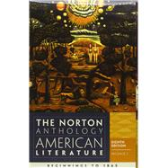 Norton Anthology of American Literature Vol. A & B by BAYM,NINA, 9780393913095