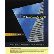 Precalculus, Enhanced Edition by Cohen, David; Lee, Theodore B.; Sklar, David, 9781305663107