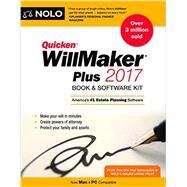 Quicken Willmaker Plus 2017 by Nolo, 9781413323108