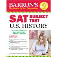 Barron's SAT Subject Test U.S. History by Senter, Kenneth R., 9781438003115