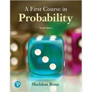 A First Course in Probability by Ross, Sheldon, 9780134753119