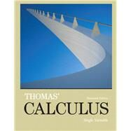 Thomas' Calculus, Single Variable plus MyMathLab with Pearson eText -- Access Card Package by Thomas, George B., Jr.; Weir, Maurice D.; Hass, Joel R., 9780321953124