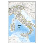 Italy Classic by National Geographic Maps, 9780792293125
