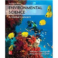 Environmental Science by Cunningham, William; Cunningham, Mary, 9781260153125