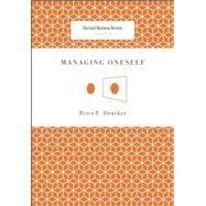 Managing Oneself by Drucker, Peter F., 9781422123126