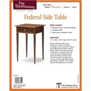 Fine Woodworking's Federal Side Table Plan by Latta, Steve, 9781631863127