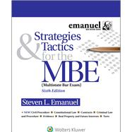Strategies & Tactics for the MBE by Emanuel, Steven L., 9781454873129