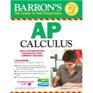 Barron's AP Calculus with CD-ROM, 12th Edition by Bock, David; Hockett, Shirley O., 9781438093130