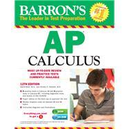 Barron's AP Calculus with CD-ROM, 12th Edition by Bock, David; Hockett, Shirley O., 9781438093130