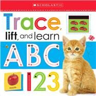 Trace, Lift, and Learn: ABC 123 (Scholastic Early Learners) by Scholastic, 9780545903134