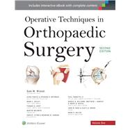 Operative Techniques in Orthopaedic Surgery (Four Volume Set) by Wiesel, Sam W., 9781451193145