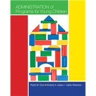 Bundle: Administration of Programs for Young Children, 9th + CourseMate Printed Access Card by Click; Karkos, 9781285483146