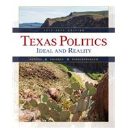 Texas Politics 2015-2016 (with MindTap Political Science, 1 term (6 months) Printed Access Card) by Newell, Charldean; Prindle, David F.; Riddlesperger, James, 9781285853147