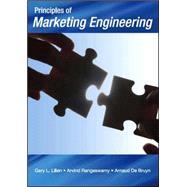 Principles of Marketing Engineering by Lilien, Gary L.; Rangaswamy, Arvind; De Bruyn, Arnaud, 9781425113148