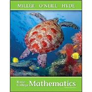 Basic College Math with ALEKS, 3rd Edition by Julie Miller and Molly O'Neill and Nancy Hyde, 9781260043150