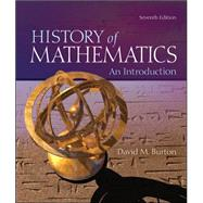 The History of Mathematics: An Introduction by Burton, David, 9780073383156