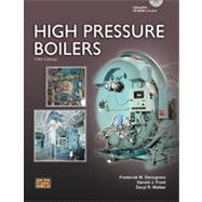 High Pressure Boilers (Book with CD-ROM) by Steingress, Frederick M., 9780826943156