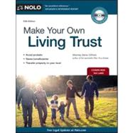 Make Your Own Living Trust by Clifford, Denis, 9781413313161