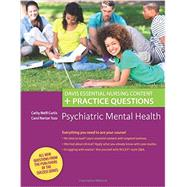 Psychiatric Mental Health: Davis Essential Nursing Content + Practice Questions by Curtis, Cathy Melfi, 9780803633162