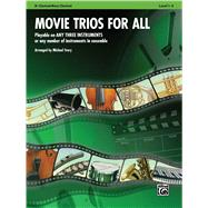 Movie Trios for All: B-flat Clarinet, Bass Clarinet by Story, Michael, 9780739063163