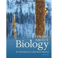 Thinking About Biology An Introductory Laboratory Manual by Bres, Mimi; Weisshaar, Arnold, 9780134033167