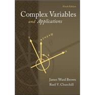 Complex Variables and Applications by Brown, James; Churchill, Ruel, 9780073383170