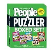 The Complete People Puzzler Boxed Set by Editors of People Magazine, 9781603203173