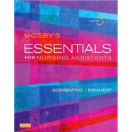 Mosby's Essentials for Nursing Assistants (Book with CD-ROM) by Sorrentino, Sheila A., Ph.D., R.N., 9780323113175