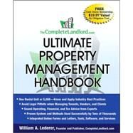 The Completelandlord.com Ultimate Property Management Handbook by Lederer, William A., 9780470323175