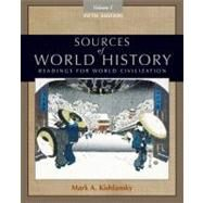 Sources of World History, Volume I by Kishlansky, Mark A., 9780495913177