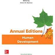 Annual Editions: Human Development by Rubman, Claire, 9781259893179
