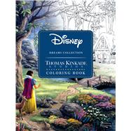 Disney Dreams Collection Thomas Kinkade Studios Coloring Book by Kinkade, Thomas, 9781449483180