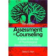 Assessment in Counseling by Danica G. Hays, 9781556203183