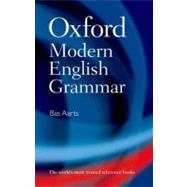 Oxford Modern English Grammar by Aarts, Bas, 9780199533190