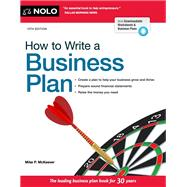 How to Write a Business Plan by McKeever, Mike P., 9781413323191