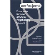 European Review of Social Psychology: Volume 17 by Stroebe,Wolfgang, 9781138883192