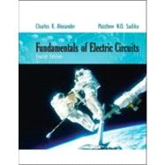Fundamentals of Electric Circuits by Alexander, Charles; Sadiku, Matthew, 9780077263195