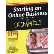 Starting an Online Business All-In-One for Dummies by Belew, Shannon; Elad, Joel, 9781118123195