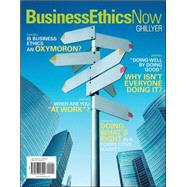 Business Ethics Now by Ghillyer, Andrew, 9780078023200