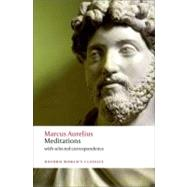 Meditations with selected correspondence by Marcus Aurelius; Hard, Robin; Gill, Christopher, 9780199573202