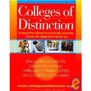 Colleges of Distinction by Student Horizons, 9780980013207