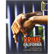 Crime in California by Kubicek, Laurie, 9781465273208