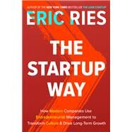 The Startup Way by RIES, ERIC, 9781101903209