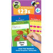 Pbs Kids My Take-along Tablet 123s by Carson-Dellosa Publishing Company, Inc., 9781483843209
