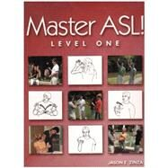 Master Asl  Package - Level One: With Dvd & Fingerspelling, Numbers, And Glossing by Zinza, Jason E., 9781881133209