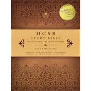 HCSB Study Bible, Teal/Taupe LeatherTouch by Unknown, 9781433603211