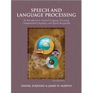 Speech and Language Processing by Jurafsky, Daniel; Martin, James H., 9780131873216