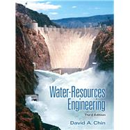 Water-Resources Engineering by Chin, David A., 9780132833219