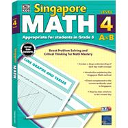 Singapore Math Level 4 A & B by Thinking Kids, 9781483813219