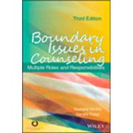 Boundary Issues in Counseling by Herlihy, Barbara; Corey, Gerald, 9781556203220